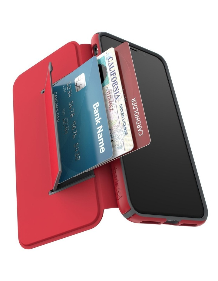 iPhone XS Presidio Folio Leather Red image 7