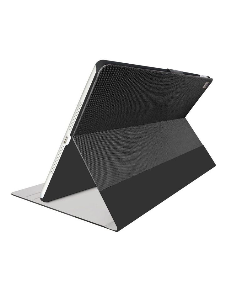TekView Slim case with protective TPU shell for iPad 10.5'' - Grey/ Black image 2