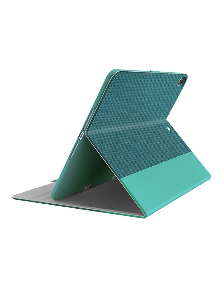 TekView with Apple pencil holder TPU shell for  iPad 10.2'' - Jade/Green image 1