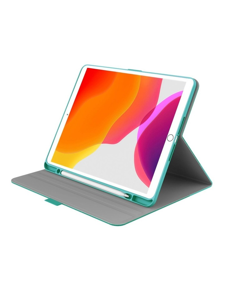 TekView with Apple pencil holder TPU shell for  iPad 10.2'' - Jade/Green image 2