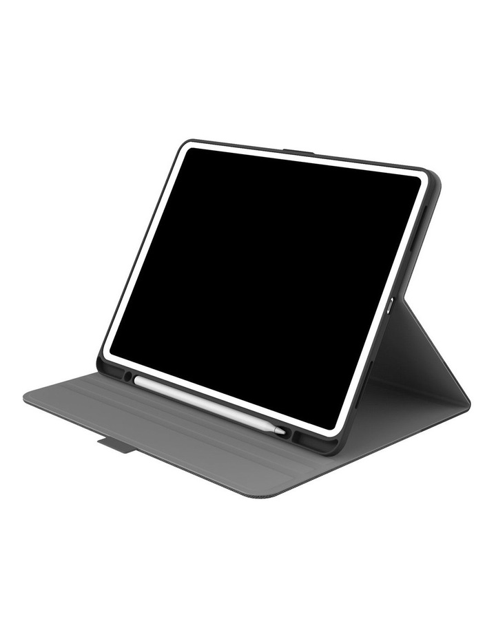 """TekView with Apple pencil holder TPU shell for iPad 10.8"""" &  11'' - Grey/ Black image 1"""