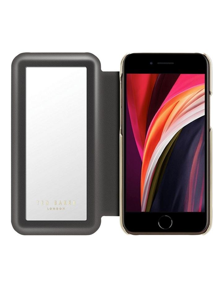 Folio Case iPhone SE 2020 / 8 / 7 Spiced Up Black Pale Gold, 82987 image 2