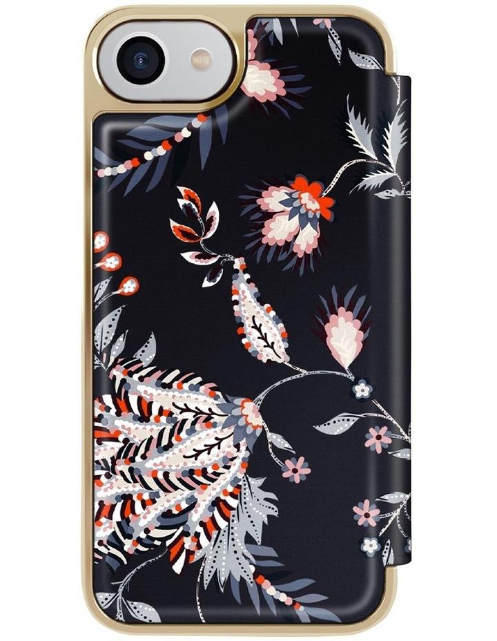Folio Case iPhone SE 2020 / 8 / 7 Spiced Up Black Pale Gold, 82987 image 4