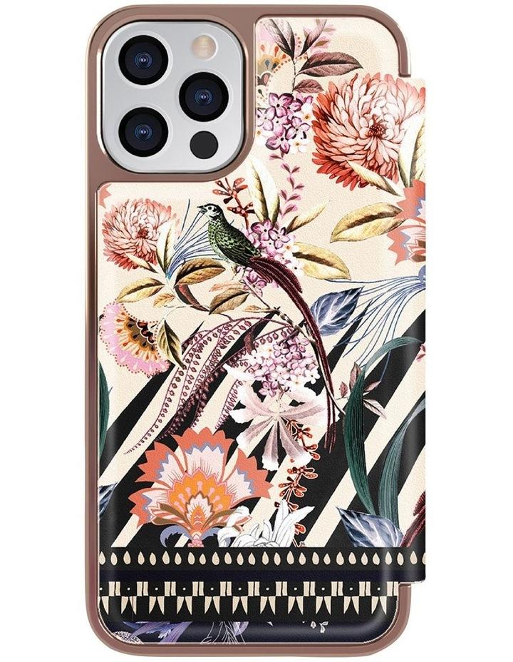 Folio Case iPhone 12 / 12 Pro Decadence Cream Rose Gold DDECA, 80686 image 6