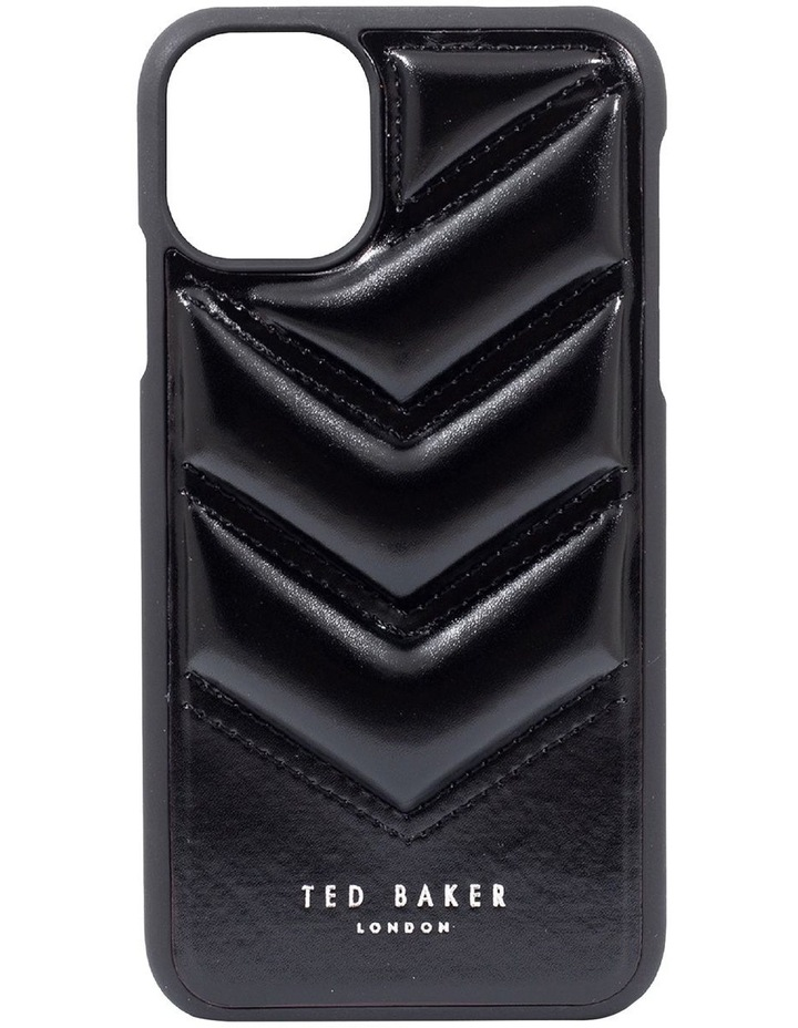 Padded Back Shell iPhone 12 / 12 Pro Quilted Black, 81997 image 6