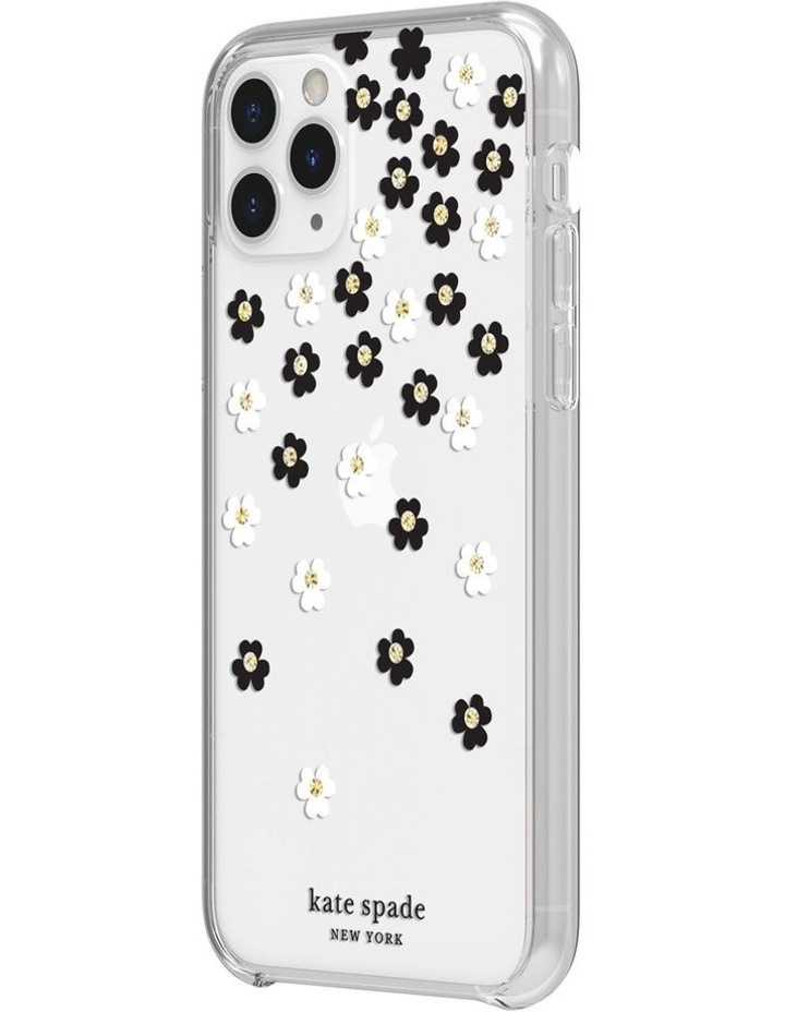 Protective Hardshell Case iPhone 11 Pro - Scattered Flowers image 2
