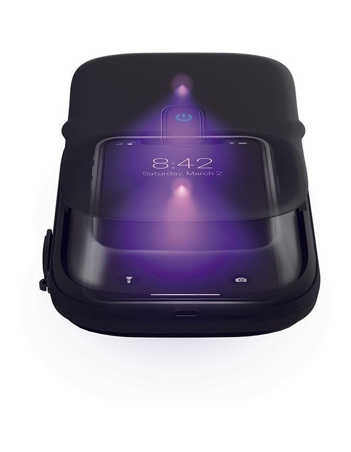UV-CLEAN Phone Sanitiser Black SAN-PH100-BK image 3