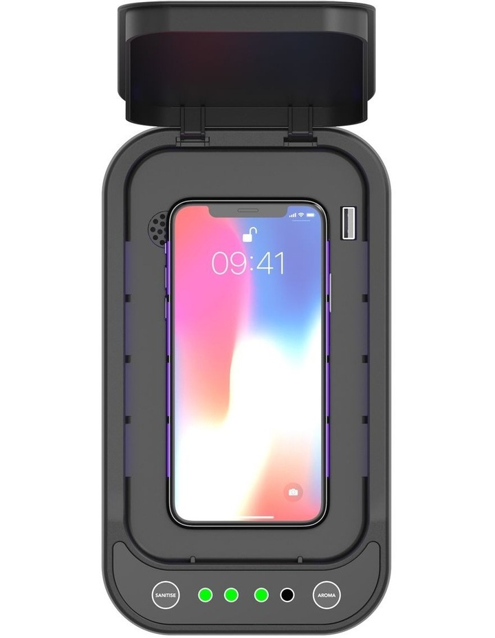 Somatick Labs UV10 ultraviolet phone sanitiser with touch button image 4