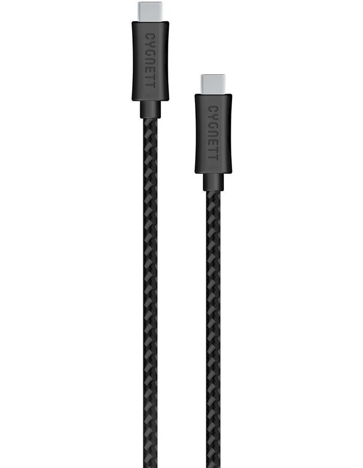 LightSpeed USB-C To USB-C Braided Cable 1m - Black image 1
