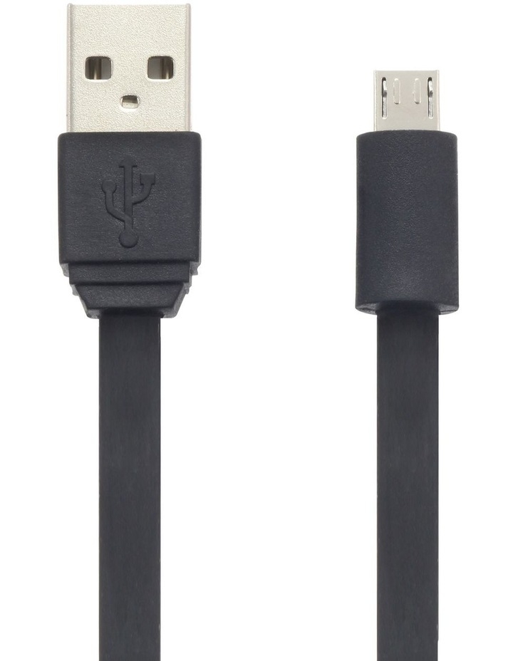 Micro-USB SynCharge Cable - Black image 1