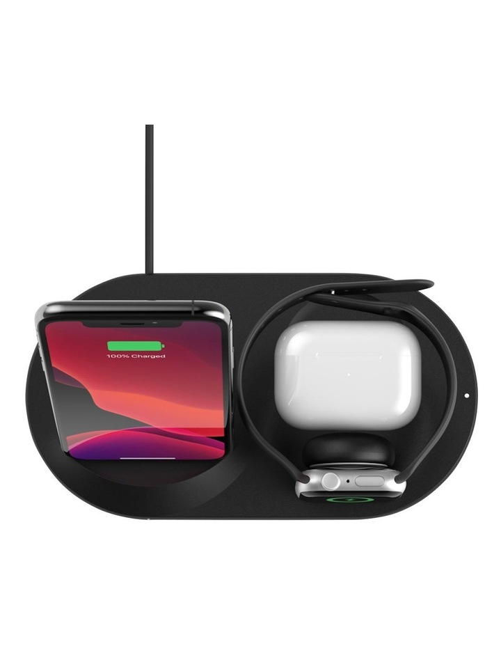 BOOSTUP CHARGE 3-in-1 Wireless Charger for Apple Devices- Black image 5