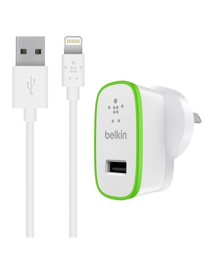 BOOSTUP Home Charger w/ Lightning to USB Cable image 1