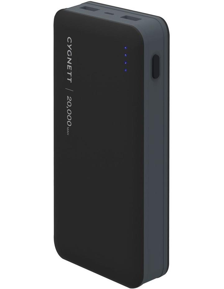 Cygnett ChargeUp Ultra 20000 mAh 4.8A Power Bank - Black/Grey image 1