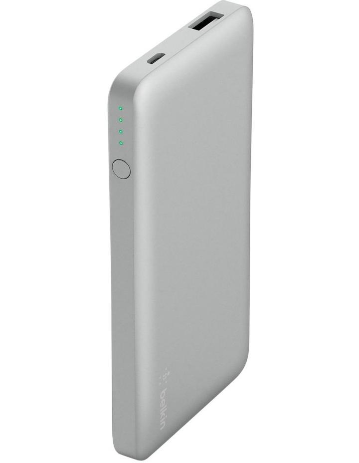 Pocket Power 5000mAh Power Bank - Silver image 1