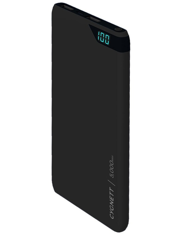 ChargeUp Boost 5,000 mAh Powerbank - Black image 1