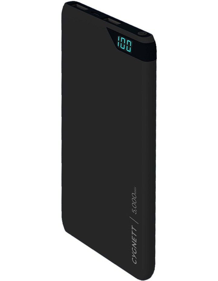 ChargeUp Boost 5,000 mAh Powerbank - Black image 2