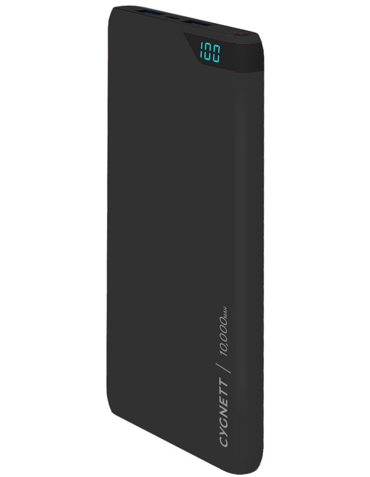 Charge up Boost 10,000 Mah Power bank - Black image 1