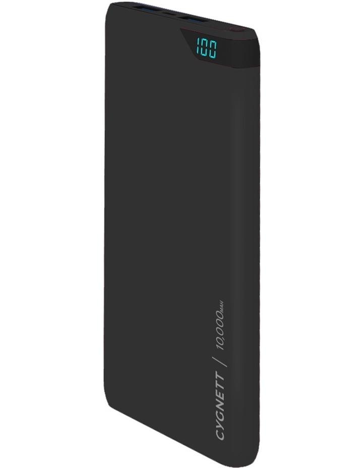 Charge up Boost 10,000 Mah Power bank - Black image 2