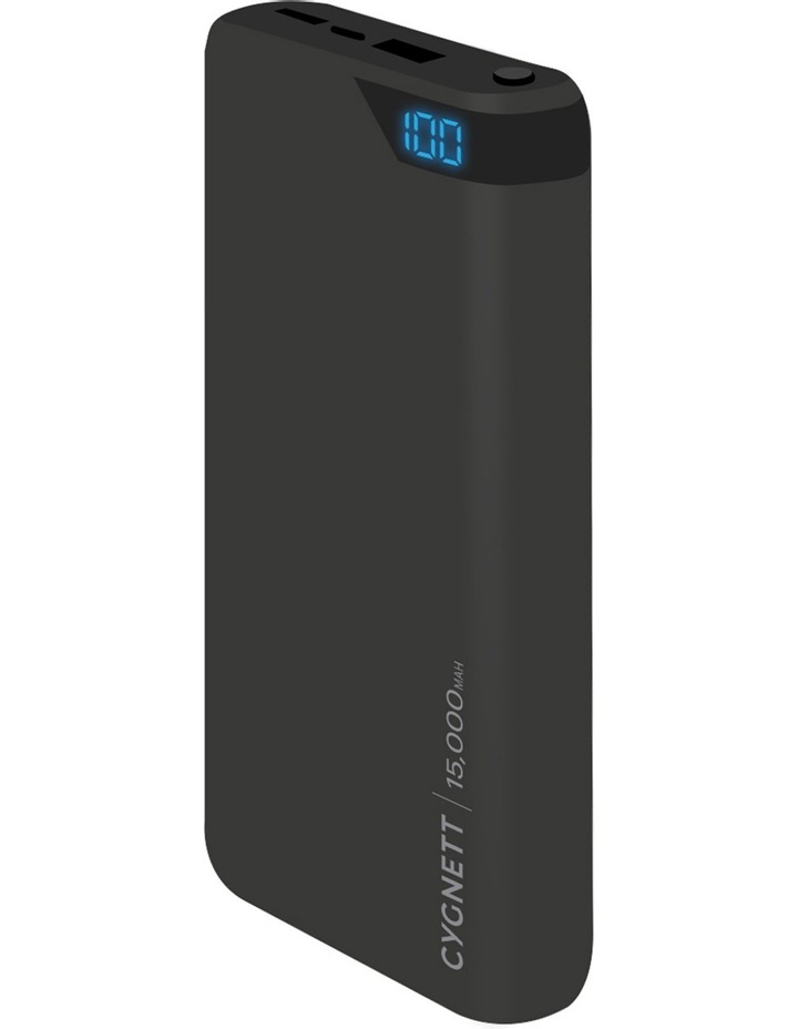 ChargeUp Boost 15,000 mAh Powerbank - Black image 2
