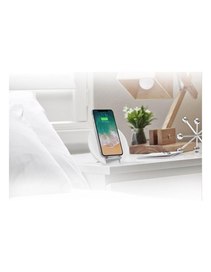 Prime Wireless Desk Charger Premium - White image 1
