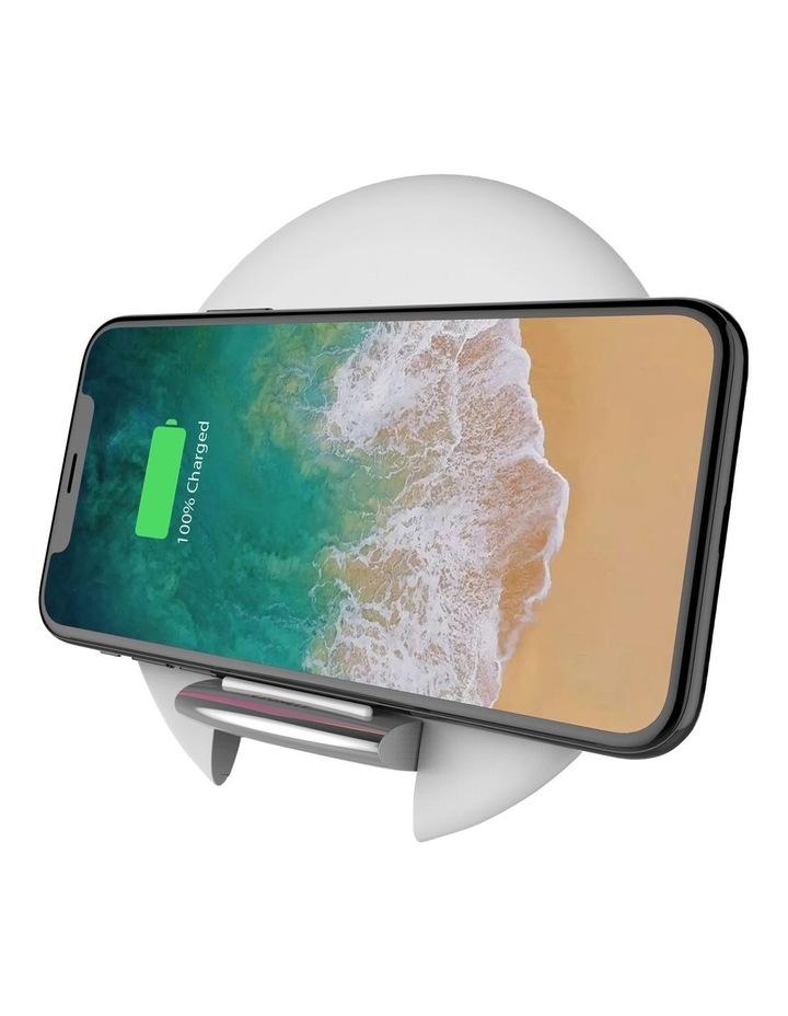 Prime Wireless Desk Charger Premium - White image 2