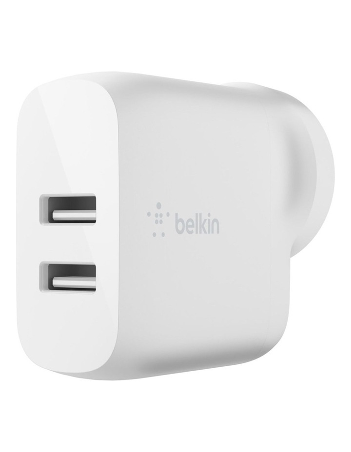 Boost Charge Dual USB-A Wall Charger 24W image 1