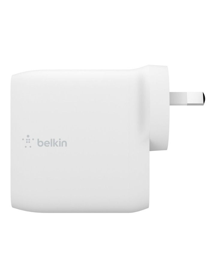 Boost Charge Dual USB-C PD GaN Wall Charger 68W image 3