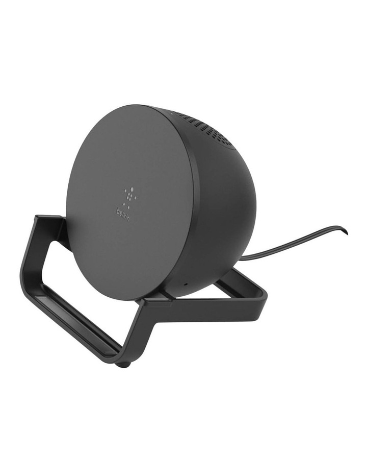 BOOSTUP CHARGE Wireless Charging Stand plus Speaker, Black image 5