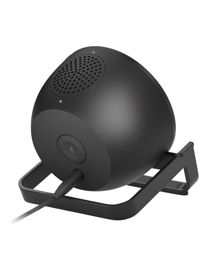BOOSTUP CHARGE Wireless Charging Stand plus Speaker, Black image 7