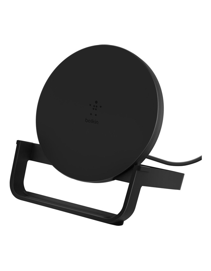 BOOSTUP CHARGE Wireless Charging Stand 10W (AC Adapter Not Included)- Black image 4