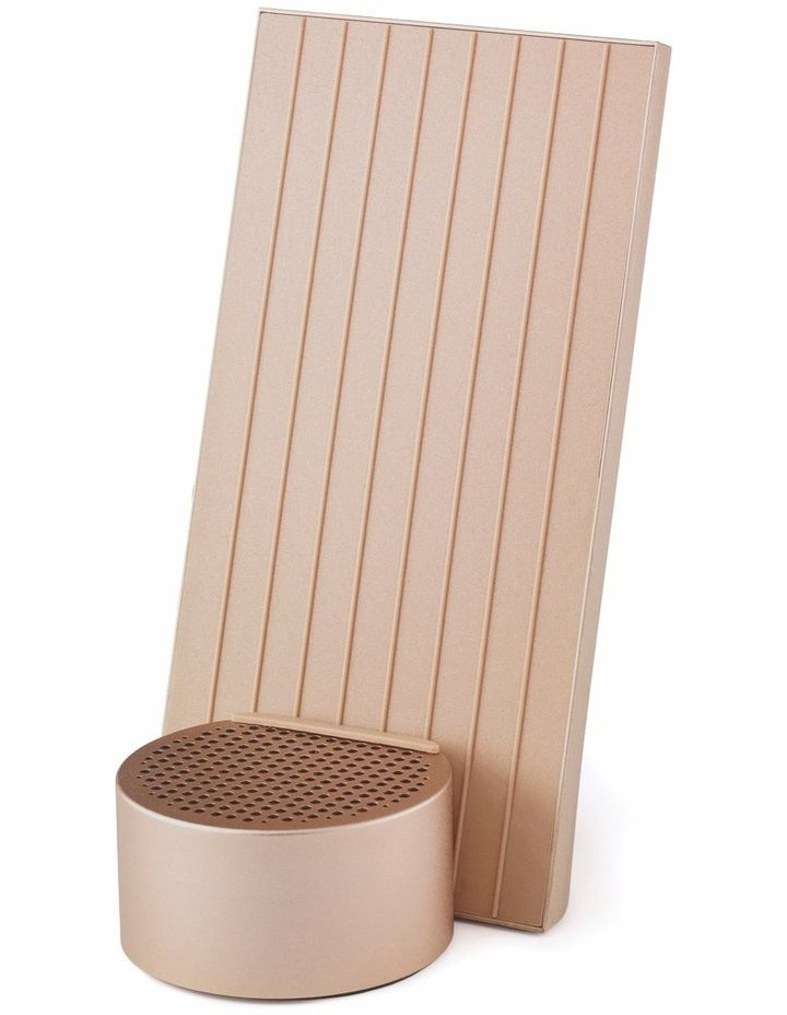 City Energy Soft Gold Bluetooth Charging Station image 1