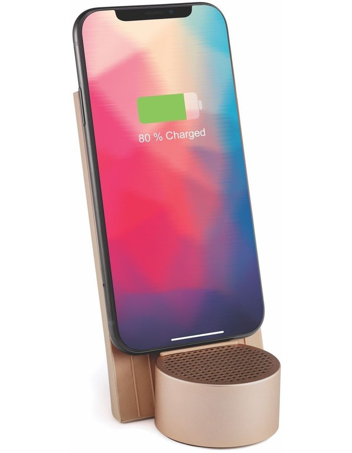 City Energy Soft Gold Bluetooth Charging Station image 2