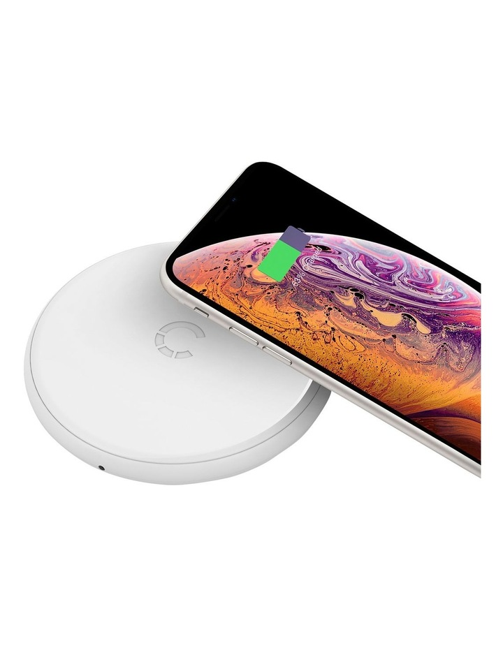 Essential 5W Wireless Charger - White image 2