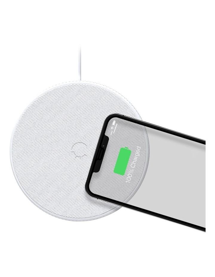 PowerBase II 10W Wireless Charger - White image 1