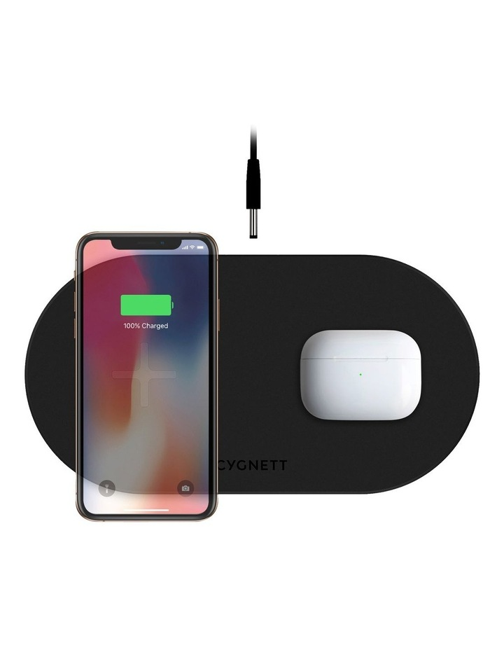 TwoFold 20W Dual Wireless Charger Black - AU image 1