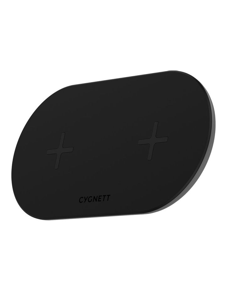TwoFold 20W Dual Wireless Charger Black - AU image 2