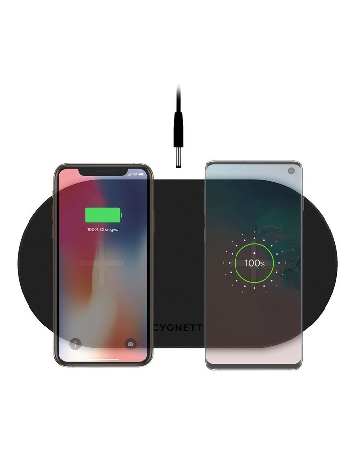 TwoFold 20W Dual Wireless Charger Black - AU image 5
