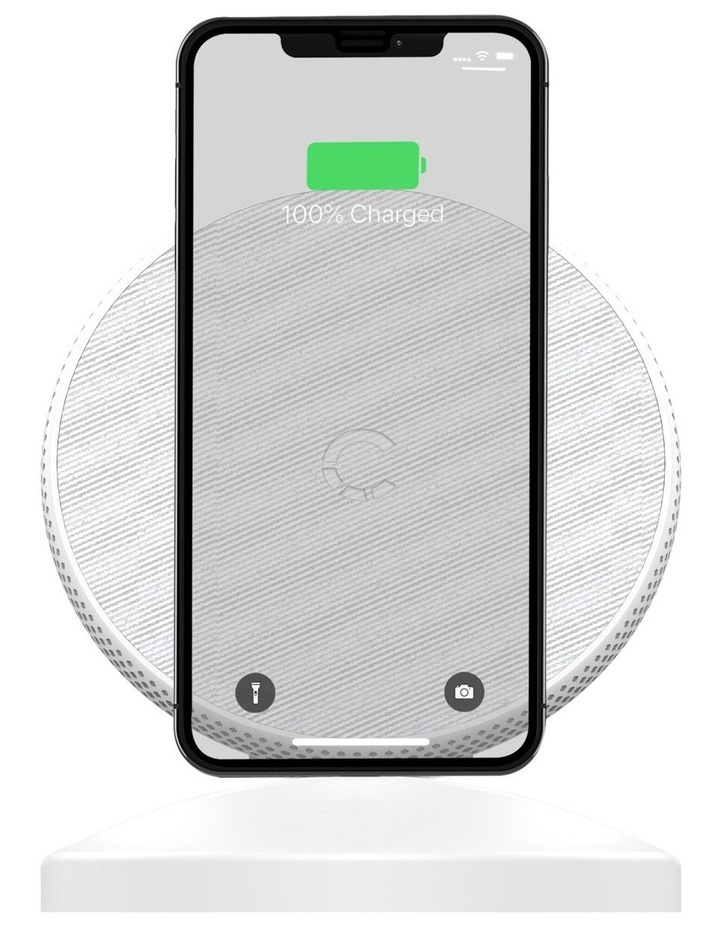 PrimePro 15W Wireless Charger White CY3283PPWIR image 1