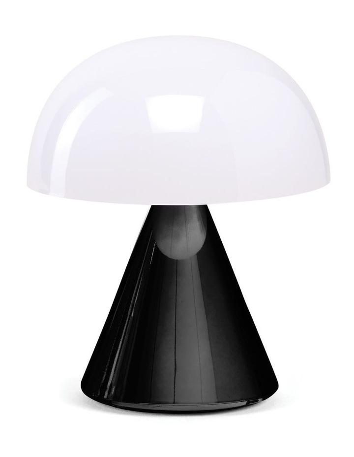 Mina LED Lamp -Glossy Black image 1