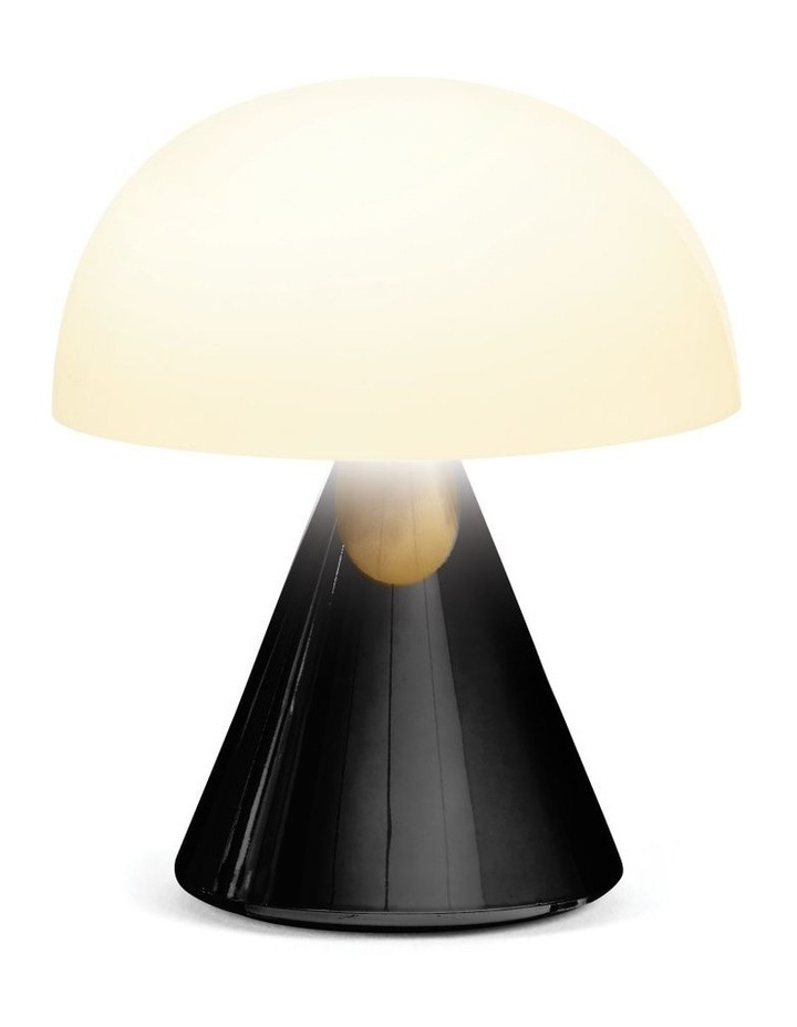 Mina LED Lamp -Glossy Black image 2