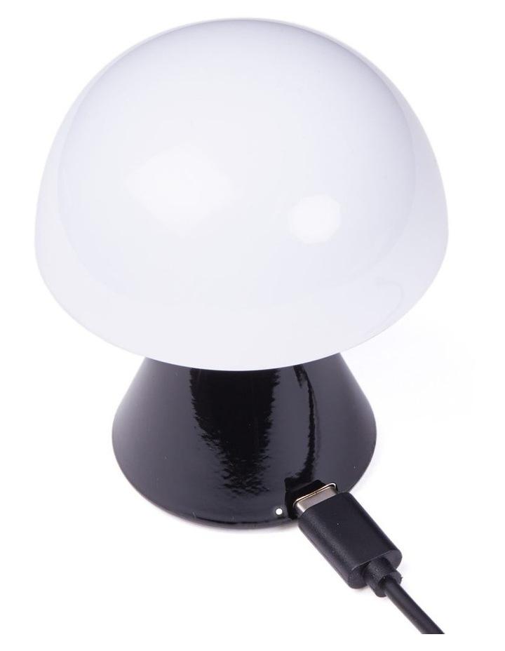 Mina LED Lamp -Glossy Black image 3