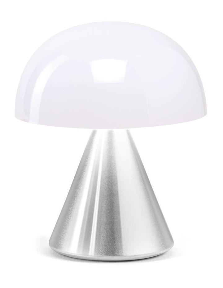 Mina LED Lamp -Polished Aluminium image 1