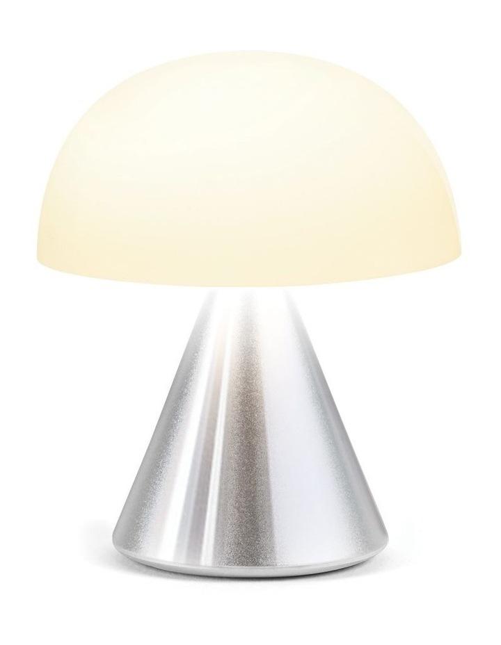 Mina LED Lamp -Polished Aluminium image 2