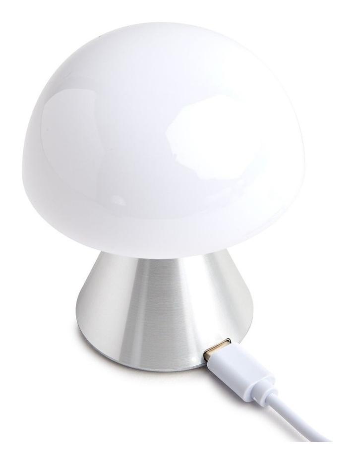 Mina LED Lamp -Polished Aluminium image 3