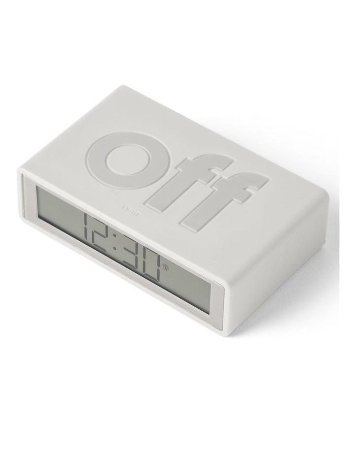 Flip Clock Reversible LCD Alarm Clock- Mastic image 3