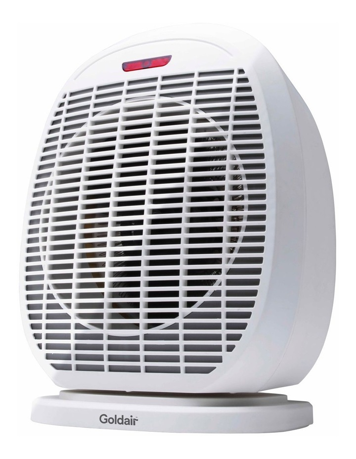 2400w Fan Heater with Oscillation White GFH320 image 1