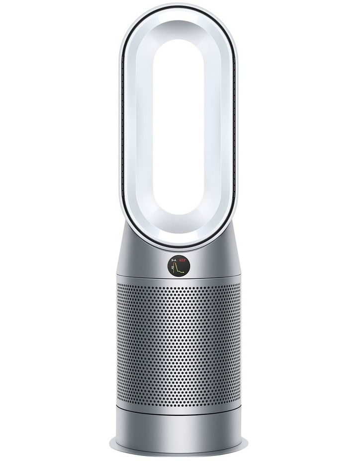 Hot Cool Purifying Fan Heater in White/Silver 368801-01 image 1
