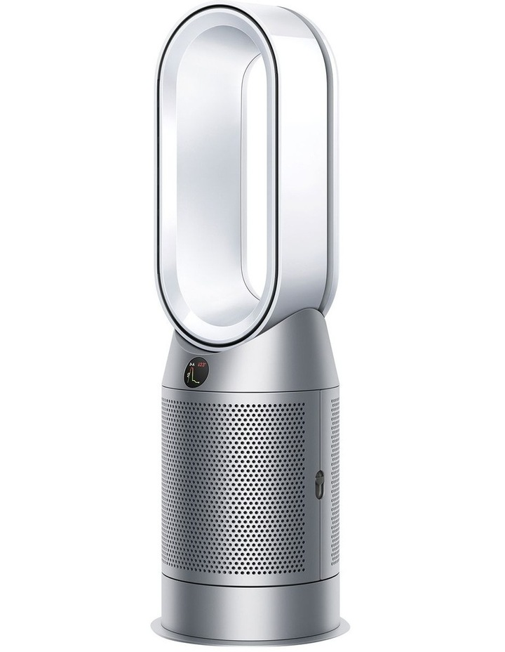 Hot Cool Purifying Fan Heater in White/Silver 368801-01 image 2