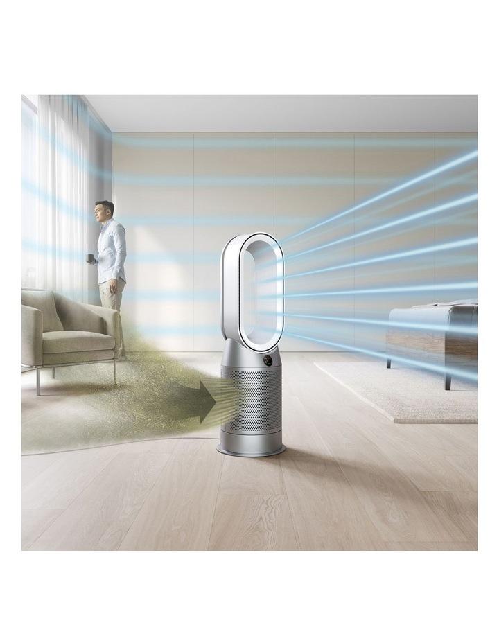 Hot Cool Purifying Fan Heater in Black/Nickel 379626-01 image 4