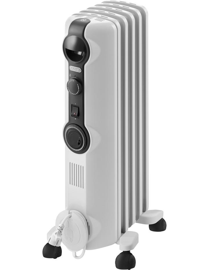 TRRS0510T Radia S 1000 watt Oil Column Heater with Timer: White image 1